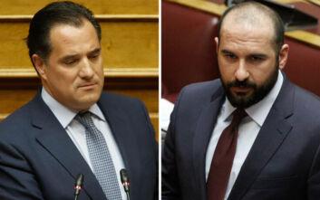 «Σκοτώθηκαν» Γεωργιάδης - Τζανακόπουλος με φόντο το Ελληνικό και... ποδοσφαιρική χροιά