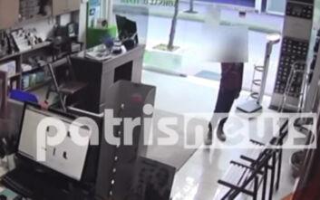 Πύργος: 7χρονος κλέφτης έχει σπείρει τον πανικό στα καταστήματα
