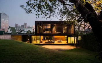 Ένα παραδεισένιο σπίτι στην καρδιά της Μπανγκόκ