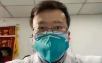 Έκρηξη οργής για τον θάνατο του γιατρού που είχε προειδοποιήσει πρώτος για τον κοροναϊό