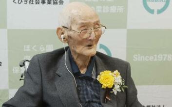 Το μυστικό της μακροζωίας του γηραιότερου εν ζωή άνδρα στον κόσμο