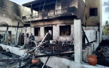 Μεγάλες υλικές ζημιές από φωτιά σε καφετέρια στην Ιεράπετρα