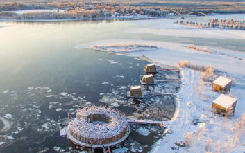 Το ξενοδοχείο των πάγων σε φέρνει κατευθείαν σε ένα αρκτικό παραμύθι