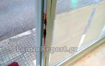 Μπαράζ διαρρήξεων τα ξημερώματα σε καταστήματα της Λαμίας