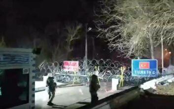 Βίντεο ντοκουμέντο από επίθεση στους συνοριοφύλακες στις Καστανιές Έβρου