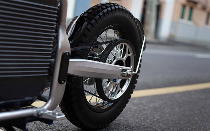 Το ηλεκτρικό μηχανάκι για ρετρο-φουτουριστικές βόλτες – Newsbeast