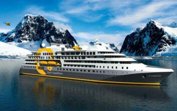 Το πολικό κρουαζιερόπλοιο που θα φέρει τη χλιδή στις εσχατιές του κόσμου