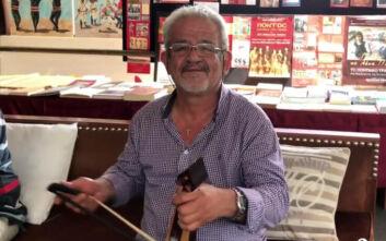 Έφυγε από τη ζωή ο λυράρης Χρήστος Τσενεκίδης