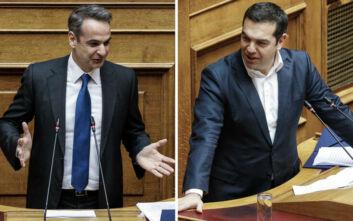 Μετωπική Μητσοτάκη - Τσίπρα στη Βουλή: Αναρωτιέμαι αν έχετε λόγο ύπαρξης σε μία Ελλάδα που επιστρέφει στην κανονικότητα