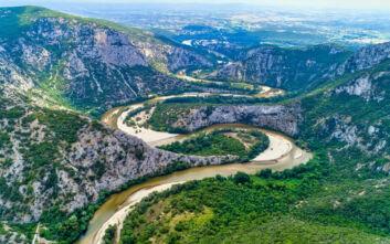 Ο εντυπωσιακός ποταμός που λατρεύτηκε σαν θεός