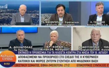 Περιφερειάρχης Βορείου Αιγαίου: Δεν θα κάνουμε ρήξη με την κυβέρνηση - Δεν θέλουμε νέες δομές