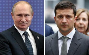 Επικοινωνία Πούτιν - Ζελένσκι για την απελευθέρωση Ουκρανών κρατουμένων