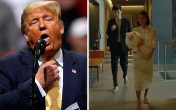Επίθεση Τραμπ στο Parasite: «Νίκησε ταινία από τη Νότια Κορέα! Τι στον διάβολο ήταν αυτό;»