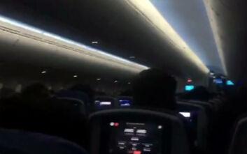 Πανικός σε αεροσκάφος, ουρλιαχτά και κλάματα καθώς επιχειρούσε να προσγειωθεί εν μέσω καταιγίδας