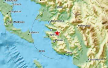 Σεισμός κοντά στην Ηγουμενίτσα
