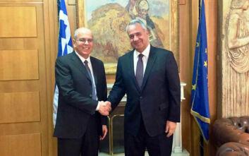 Η στενότερη συνεργασία Ελλάδας - Ισραήλ στο επίκεντρο της συνάντησης Βορίδη - Ισραηλινού πρέσβη