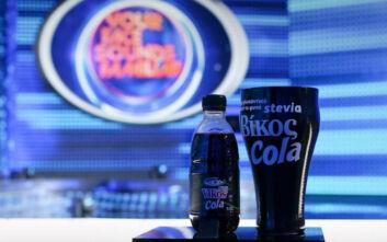Νότες απόλαυσης από τη Βίκος Cola στέβια στο «Your Face Sounds Familiar»