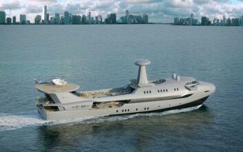 Ένα jumbo jet για τη… θάλασσα