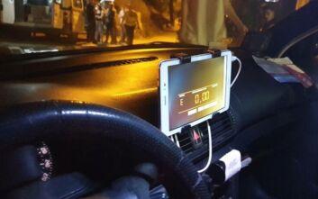 Πατέντα με τάμπλετ από οδηγούς ταξί στη Θεσσαλονίκη και απενεργοποιημένα ταξίμετρα
