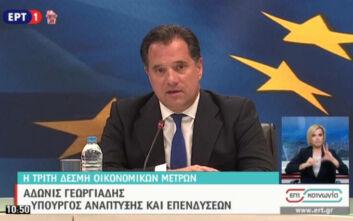 Γεωργιάδης: Τρίμηνη αναστολή των δόσεων στις τράπεζες για τους πληγέντες - Πρόστιμα για την αισχροκέρδεια