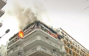 Τραγωδία στη Θεσσαλονίκη με νεκρό ηλικιωμένο ζευγάρι από φωτιά σε διαμέρισμα