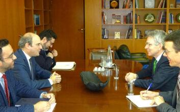 FSRU Αλεξανδρούπολης: Ικανοποίηση Πάιατ-Χατζηδάκη για την εξέλιξη του σημαντικού ενεργειακού έργου