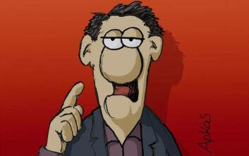 Τα νέα σκίτσα του Αρκά για τον κορονοϊό και τη «θανατηφόρα βλακεία»