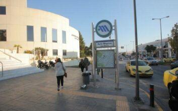 Κλειστός το Σαββατοκύριακο ο σταθμός «Αγ. Μαρίνα» του μετρό