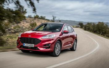 Το νέο εξηλεκτρισμένο Ford Kuga «συστήνεται»