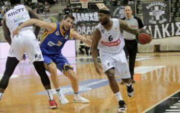 Basket League: Έπιασε πάτο ο ΠΑΟΚ, ήττα και από το Περιστέρι