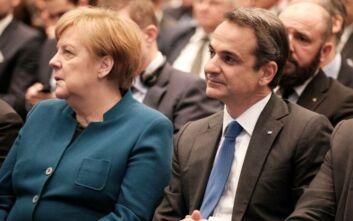 Μητσοτάκης - Μέρκελ: Επιστροφές στην Τουρκία από την ελληνική ενδοχώρα και κοινές περιπολίες με Frontex