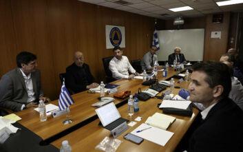 Σύσκεψη Χαρδαλιά με εκπροσώπους ασφαλείας κρίσιμων υποδομών για τον κορονοϊό