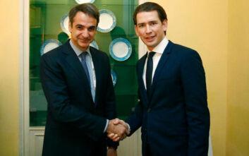 Στην Αυστρία σήμερα ο Κυριάκος Μητσοτάκης - Συνάντηση το απόγευμα με τον Σεμπάστιαν Κουρτς