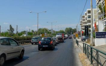 Κίνηση τώρα: Μεγάλο μποτιλιάρισμα στην Παραλιακή λόγω τροχαίου