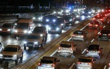 Αυξημένη κίνηση τώρα στην Αθηνών - Λαμίας μετά από τροχαίο