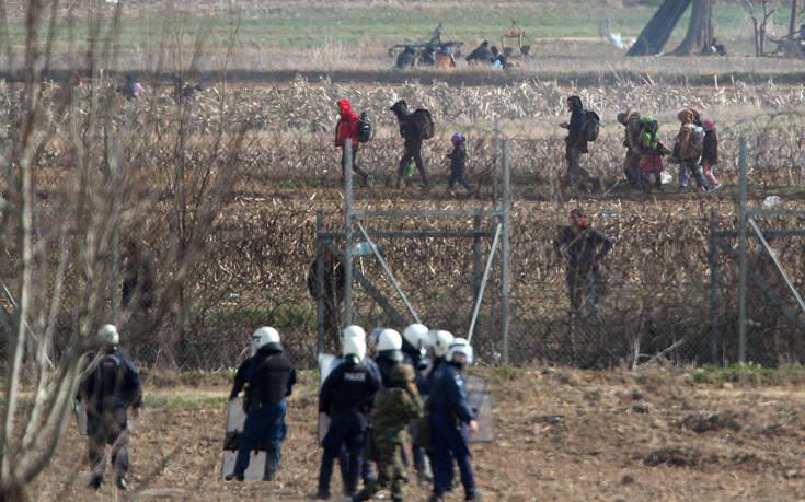 Σπεύδουν 400 αστυνομικοί στον Έβρο για την ενίσχυση των συνόρων