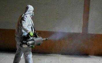 Κορονοϊός στη Θεσσαλονίκη: Εντατικοί καθαρισμοί ΚΑΠΗ και νοσοκομείων