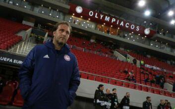 «Εφιάλτης» στον Ολυμπιακό, έκτακτη σύσκεψη με Μαρτίνς