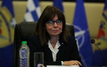 Σακελλαροπούλου: Η Ελλάδα δεν θα δείξει αδυναμία μπροστά σε οποιαδήποτε επιθετικότητα