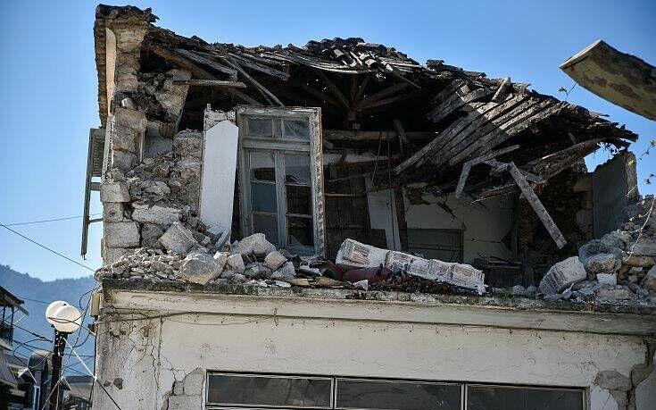 Σεισμός στην Πάργα: Σοβαρές ζημιές σε 30 παλιά σπίτια στην περιοχή του Καναλακίου