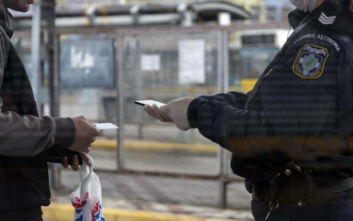 Απαγόρευση κυκλοφορίας: Στις 2.286 οι παραβάσεις την Πέμπτη - Στην Αττική τα περισσότερα πρόστιμα