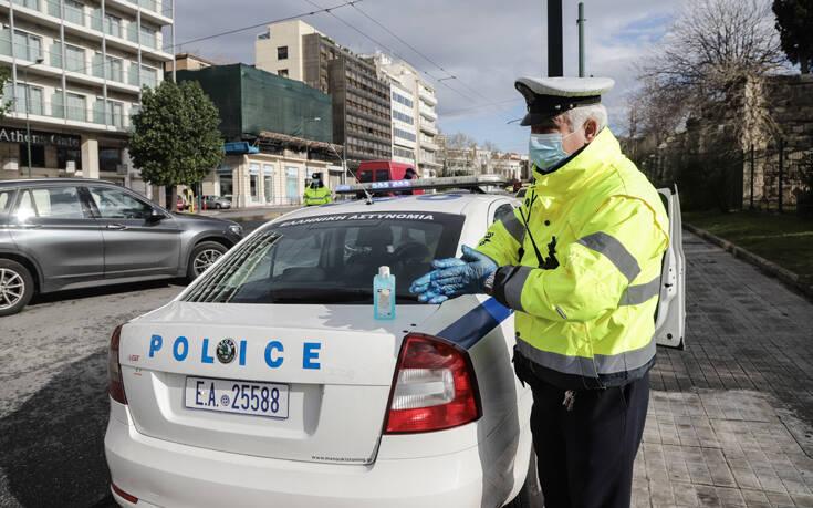 Απαγόρευση κυκλοφορίας: Αυτό είναι το νέο ηχητικό μήνυμα της ΕΛ.ΑΣ. για τον κορονοϊό