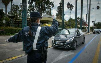Απαγόρευση κυκλοφορίας: 1.143 παραβιάσεις εντόπισε η Αστυνομία την Παρασκευή