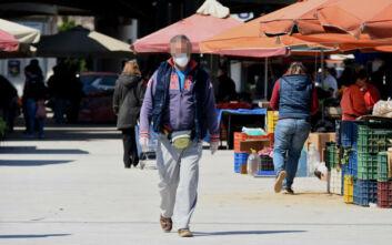 Κορονοϊός: Εντείνονται οι έλεγχοι στις λαϊκές αγορές