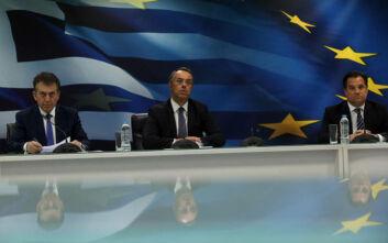 Σταϊκούρας: Σε 1,7 εκατ. εργαζόμενους τα 800 ευρώ - Μέτρα στήριξης σε 800.000 επιχειρήσεις και 700.000 ελεύθερους επαγγελματίες