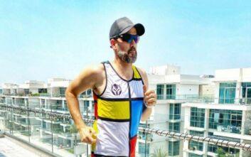 Κορονοϊός: Στο Ντουμπάι, ένα ζευγάρι θα τρέξει μαραθώνιο... στο μπαλκόνι του