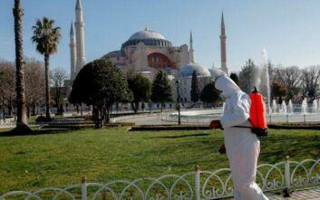 Κορονοϊός: 30 νεκροί στην Τουρκία, 1.256 επιβεβαιωμένα κρούσματα