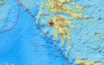 Σεισμός τώρα κοντά στον Πύργο