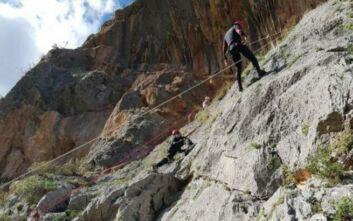 Εύβοια: Επιχείρηση διάσωσης ορειβάτη