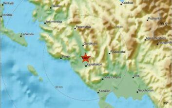 Σεισμός τώρα κοντά στην Πάργα